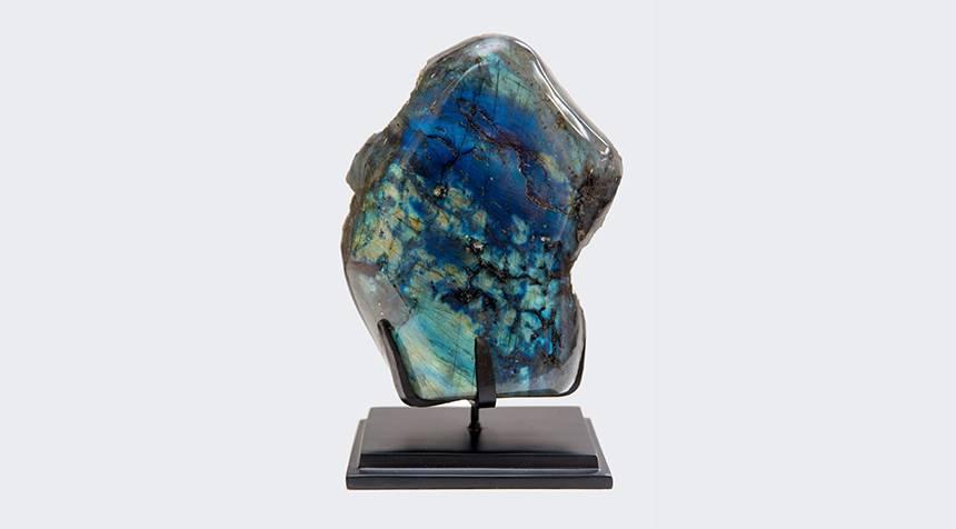 DEEP BLUE LABRADORITE 0