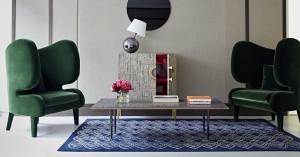 Jerome Faillant-Dumas Bespoke Designed furniture at the VIS A VIS PARIS London Home boutique