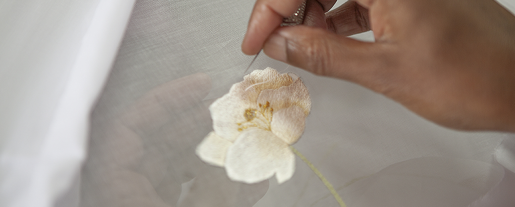 Hand-embroidery atelier