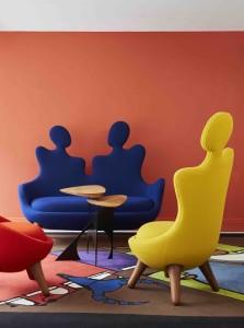 Mobilier Design de Vincent Darré à la boutique pour la maison de VIS A VIS PARIS à Londres