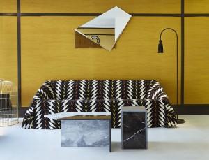 Mobilier Design de Pierre Gonalons à la boutique pour la maison de Londres de VIS A VIS Paris