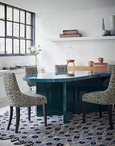 Jerome Faillant-Dumas bespoke furniture at the VIS A VIS PARIS London Home boutique